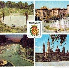 Postales: POSTAL DE ZARAGOZA,CIRCULADA ED. ARRIBAS . Lote 61159331