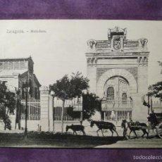 Postales: POSTAL - ESPAÑA - ZARAGOZA - EL MATADERO - EL CICLÓN, GARCÍA, PARAISO Y ARIZ-NAVARRETA - NUEVA. Lote 61220715