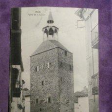 Postales: POSTAL - ESPAÑA - HUESCA - JACA - TORRE DE LA CARCEL - M. N. PARIS - FOT. BRETOS - PRINCIPIOS 1900. Lote 61298091