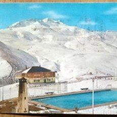 Postales: SALLENT DE GALLEGO - ESTACION DE EL FORMIGAL. Lote 61659916