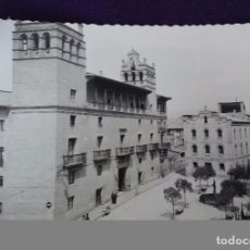 Postales: POSTAL DE HUESCA. N°1 PLAZA CATEDRAL Y AYUNTAMIENTO. EDIC.DARVI. AÑOS 50.. Lote 62277208