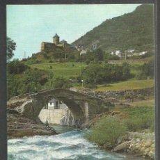 Postales: 8 - TORLA (HUESCA) PUENTE ROMANICO SOBRE EL RIO ARA-PIRINEO ARAGONES - ED. SICILIA 1966 -. Lote 62584356