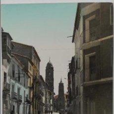 Postales: POSTAL - MORATA DE JALÓN (ZARAGOZA) - CALLE MAYOR BAJA - EDICIONES SICILIA - COLOREADA. Lote 62600560