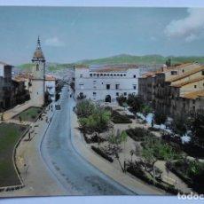 Postales: POSTAL - AYERBE (HUESCA) - PLAZA RAMÓN Y CAJAL - EDICIONES SICILIA - COLOREADA. Lote 62686184