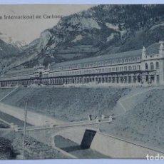Postales: POSTAL - ESTACIÓN INTERNACIONAL DE CANFRANC (HUESCA) - NÚMERO 20. Lote 62689824