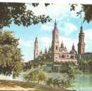 Postales: 475 ZARAGOZA RIO EBRO Y TEMPLO DE EL PILAR CIRCULADA 19 5 1964 EDICIONES GARCIA GARRABELLA. Lote 63105920