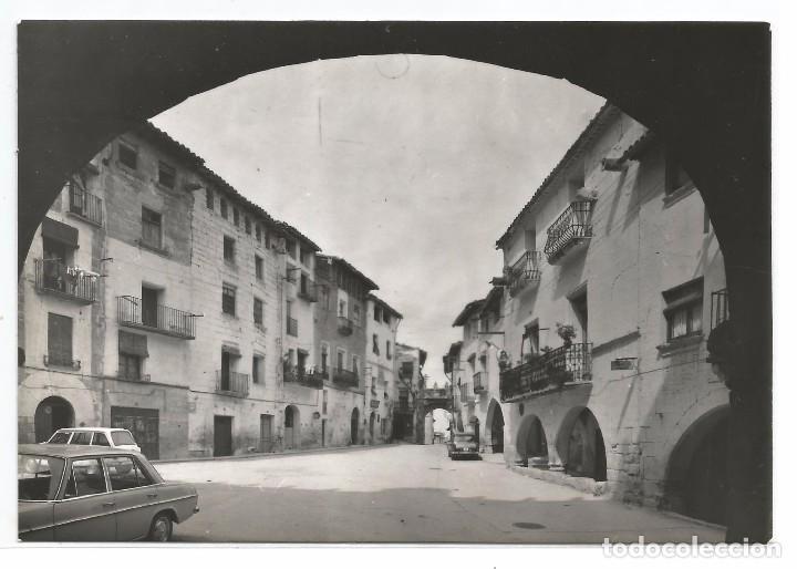 LA FRESNEDA .- PLAZA MAYOR .- EDICIONES SICILIA Nº 13 (Postales - España - Aragón Moderna (desde 1.940))