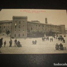 Postales: ZARAGOZA CASTILLO DE ALJAFERIA. Lote 64341603