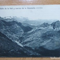 Postkarten - HUESCA OBRAS SALTO DE EL RUN VALLE DE LA VALL Y MACIZO MALADETTA. CATALANA DE GAS Y ELECTRICIDAD. - 64600639