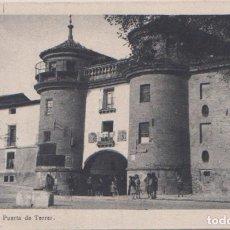 Postales: CALATAYUD (ZARAGOZA) - PUERTA DE TERRER. Lote 64634863