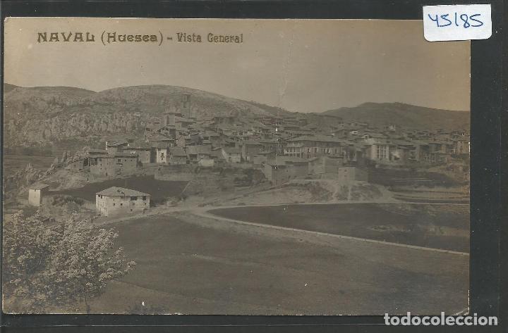 NAVAL - HUESCA - VISTA GENERAL - FOTOGRAFICA -VER REVERSO-(45.185) (Postales - España - Aragón Antigua (hasta 1939))