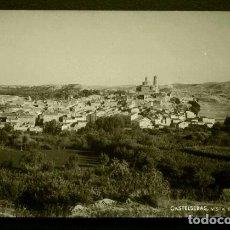 Postales: CASTELSERAS (TERUEL) VISTA GENERAL - FOTO/POSTAL 14 X 9 CM - POSTAL NO CIRCULADA. Lote 65756074