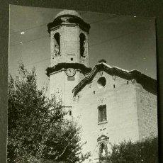 Postales: CASTELSERAS (TERUEL) PARROQUIA NATIVIDAD -FOTO/POSTAL 14 X 9 CM - POSTAL NO CIRCULADA. Lote 65756374