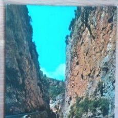 Postales: VALLE DE BENASQUE - CONGOSTRO DEL RIO ESERA. Lote 65833690