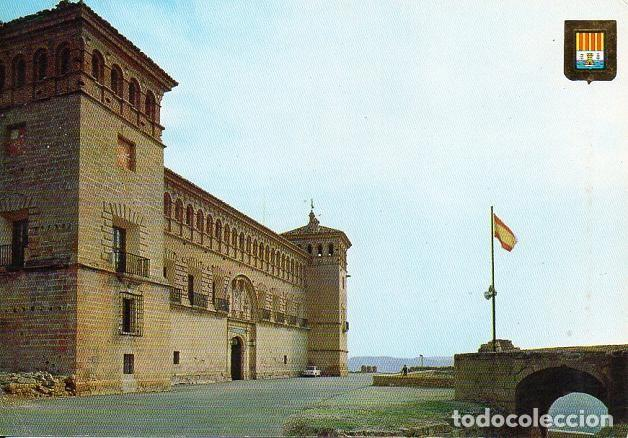 ALCAÑIZ - 5525 CASTILLO CALATRAVOS (Postales - España - Aragón Moderna (desde 1.940))