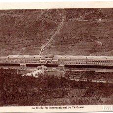 Postales: PS7058 CANFRANC 'ESTACIÓN INTERNACIONAL'. F. DE LAS HERAS. CIRCULADA. 1949 . Lote 66829314