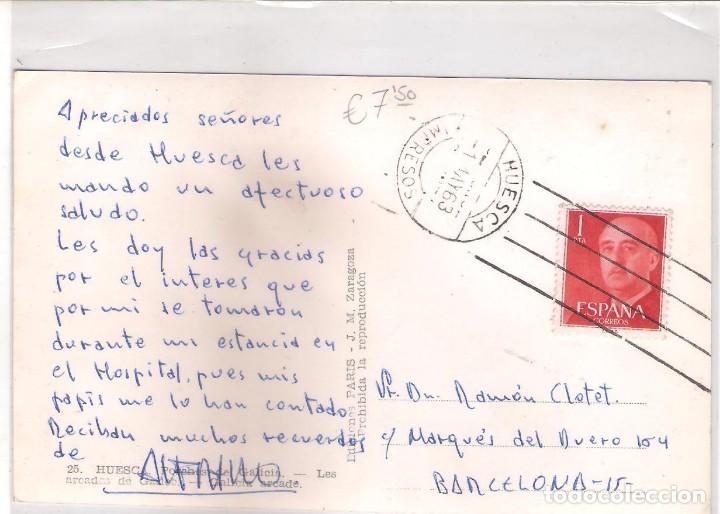 Postales: POSTAL DE HUESCA - PORCHES DE GALICIA - - Foto 2 - 67609525
