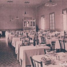 Postales: ALHAMA DE ARAGON.-TERMAS PALLARES.-HOTEL SAN FERMIN.-COMEDOR - CASTAÑEIRA. Lote 68366517
