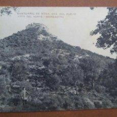 Postales: POSTAL HUESCA BARBASTRO SANTUARIO NUESTRA SEÑORA DEL PUEYO. Lote 68654294