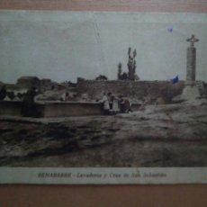 Postales: POSTAL HUESCA BENABARRE. Lote 68662983