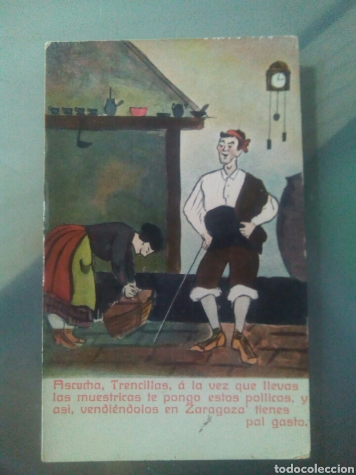Postales: Cinco postales Antiguas aragonesas - Foto 4 - 68740119