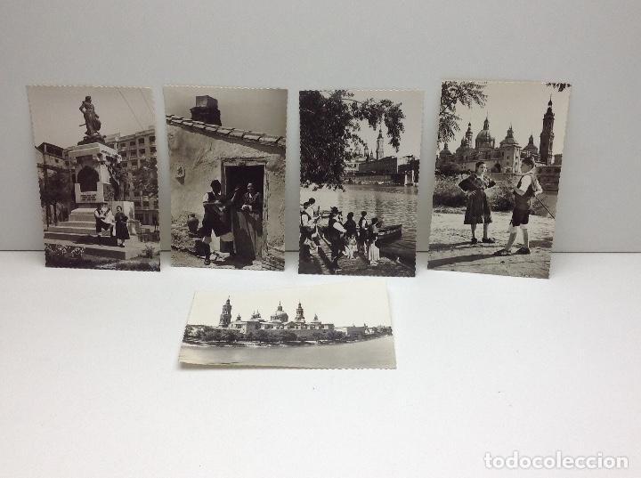 LOTE DE POSTALES DE ZARAGOZA (Postales - España - Aragón Moderna (desde 1.940))