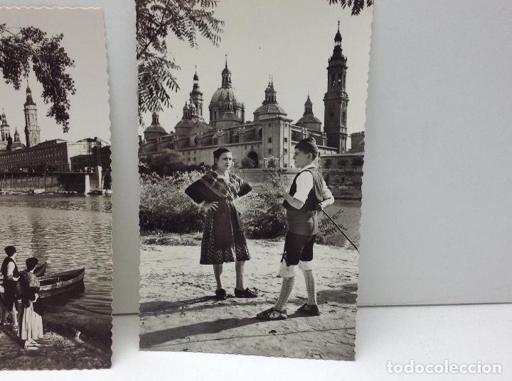 Postales: LOTE DE POSTALES DE ZARAGOZA - Foto 6 - 69396149
