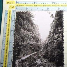 Postales: POSTAL HUESCA AÑOS 30 50. CASTEJÓN DE SOS, CONGOSTO CARRETERA SEIRA AL VALLE. 19 SICILIA. 915. Lote 69793001