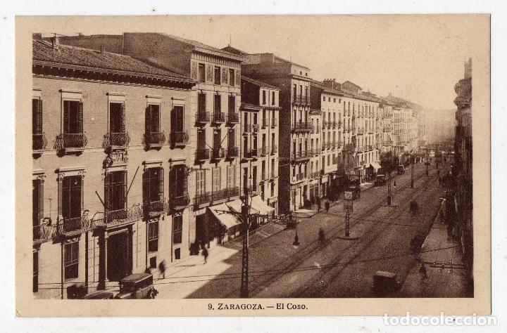 ZARAGOZA. EL COSO. (Postales - España - Aragón Antigua (hasta 1939))