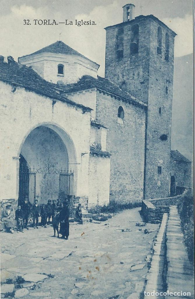 TORLA (HUESCA) LA IGLESIA (Postales - España - Aragón Moderna (desde 1.940))