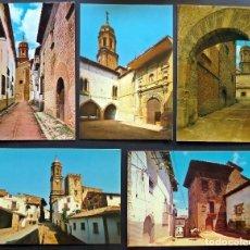 Postales: LOTE DE 5 POSTALES SIN CIRCULAR DE LA IGLESUELA DEL CID. EDITADAS POR J. BELTRAN. SIN CIRCULAR. Lote 71081385