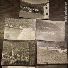 Postales: 1961. 7 FOTOS DE EPOCA DE VILLANUEVA HUESCA. Lote 71482863
