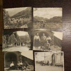 Postales: 1959-1961 LOTE DE 74 FOTOS ORIGINALES DE EPOCA CASTEJON DE SOS HUESCA. Lote 71490043