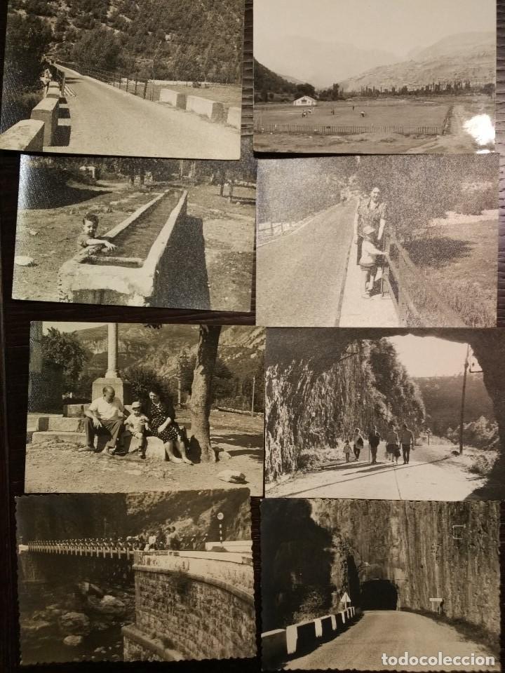Postales: 1959-1961 LOTE DE 74 FOTOS ORIGINALES DE EPOCA CASTEJON DE SOS HUESCA - Foto 6 - 71490043
