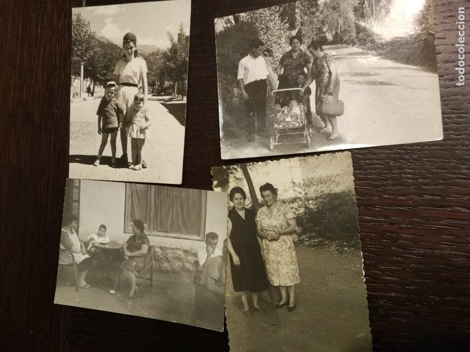 Postales: 1959-1961 LOTE DE 74 FOTOS ORIGINALES DE EPOCA CASTEJON DE SOS HUESCA - Foto 10 - 71490043