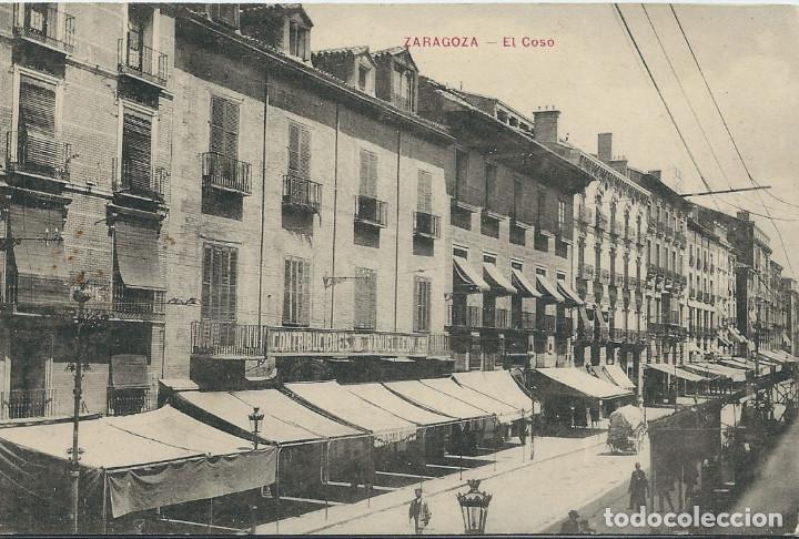 ZARAGOZA - EL COSO (Postales - España - Aragón Antigua (hasta 1939))