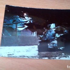 Postales: SALLENT DE GALLEGO - VISTA PARCIAL NOCTURNA - HUESCA - SIN CIRCULAR. Lote 71909563