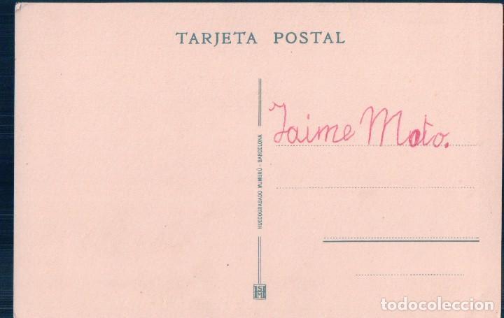 Postales: postal monasterio de piedra serie B 6 cascada la requijada huecograbado mumbru barcelona - Foto 2 - 72316063