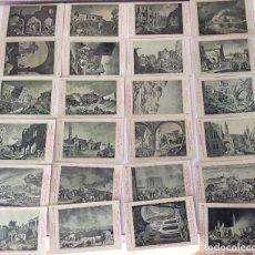 Postales: COLECCIÓN?? 24 POSTALES. CENTENARIO DE LOS SITIOS 1908. LIT. E. PORTABELLA. ZARAGOZA.. Lote 72728515