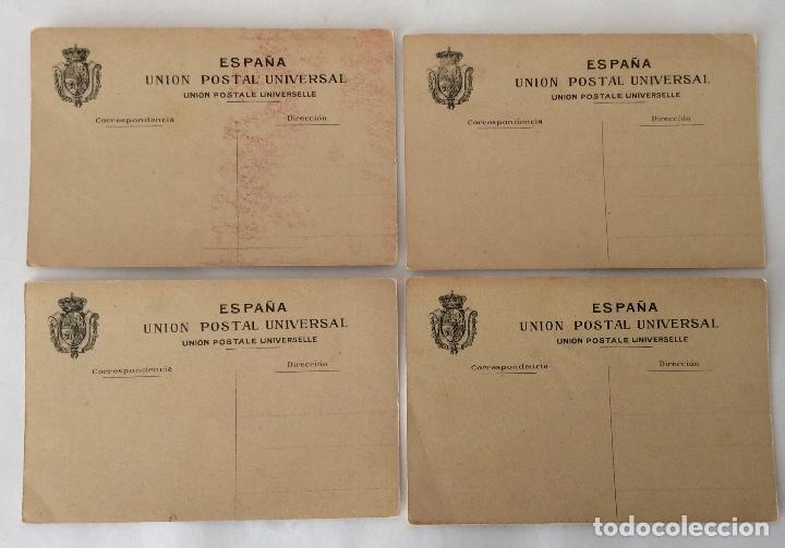 Postales: COLECCIÓN?? 24 POSTALES. CENTENARIO DE LOS SITIOS 1908. LIT. E. PORTABELLA. ZARAGOZA. - Foto 3 - 72728515