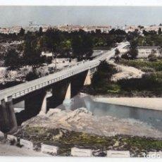 Postales: POSTAL. SARIÑENA. HUESCA. VISTA PARCIAL Y RÍO ALCANADRE. FOTO ROSENDO 1962. Lote 73678959