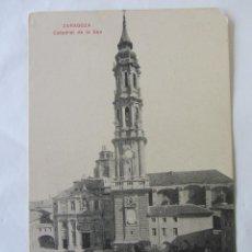 Postales: POSTAL ZARAGOZA. CATEDRAL DE LA SEO. Lote 73966287
