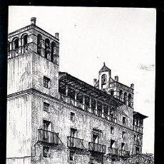 Postales: HUESCA.FACHADA DEL PALACIO MUNICIPAL 9.EDT.HERALDO DE ARAGON. Lote 74175691