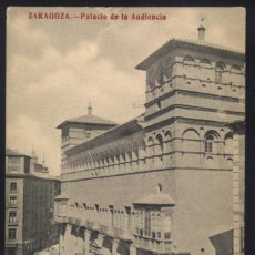Postales: A-4367- ZARAGOZA. PALACIO DE LA AUDIENCIA.. Lote 74980831