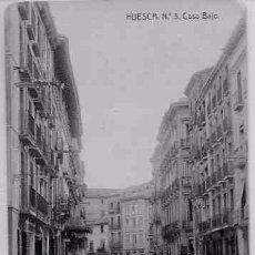 Postales: HUESCA COSO BAJO. Lote 77137485