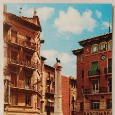 Postales - TERUEL. PLAZA DE CARLOS CASTEL. TORICO. - 77654805