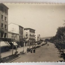 Postales: POSTAL FOTOGRÁFICA. PASEO DE CALVO SOTELO. CALATAYUD. ZARAGOZA.. Lote 78600377