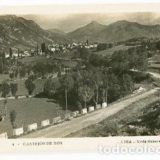 Postales: HUESCA CASTEJON DE SOS, CHIA VISTA GENERAL. POSTAL FOTOGRÁFICA, SIN CIRCULAR. Lote 78674601