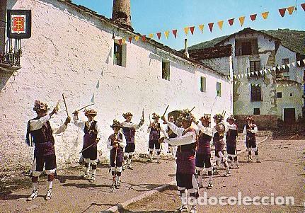 HUESCA DANZANTES DE YEBRA, 1965 (Postales - España - Aragón Moderna (desde 1.940))