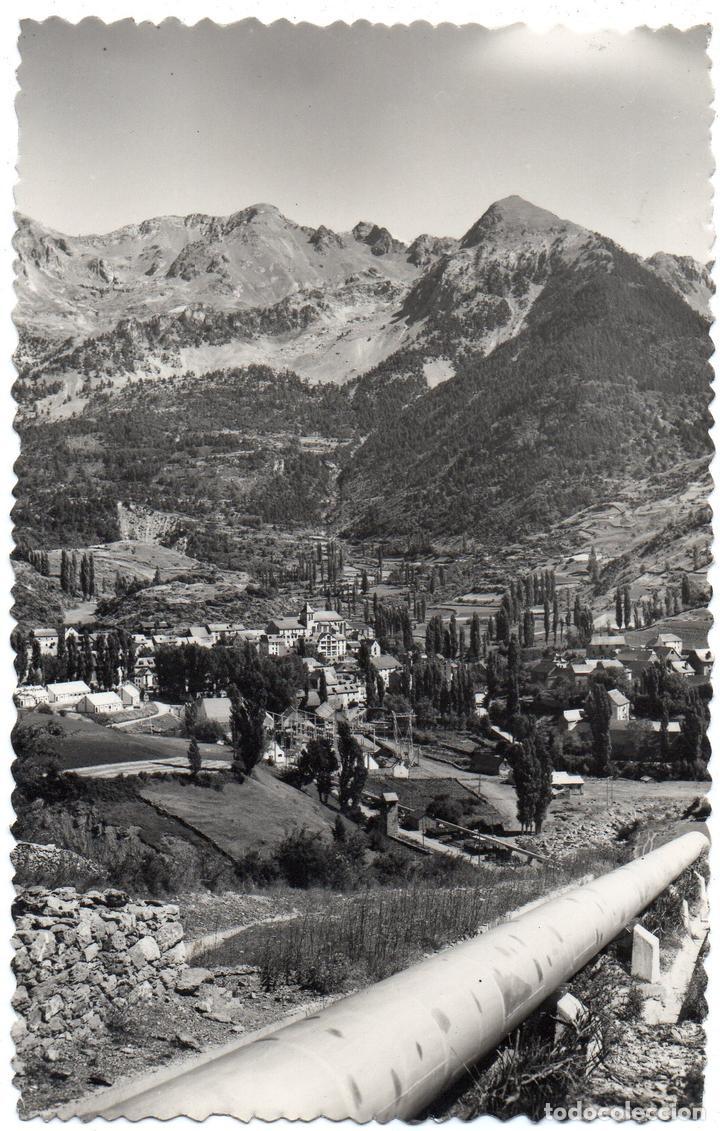 PS7451 SALLENT DE GÁLLEGO 'VISTA GENERAL'. EDICIONES SICILIA. CIRCULADA. 1958 (Postales - España - Aragón Moderna (desde 1.940))